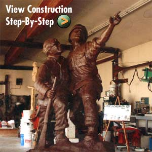 View Memorial Construction Step-By-Step